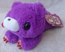 "Official Chax GP TAITO Gloomy Bear Laying Purple Soft Plush Toy Japan Kawaii 9"""