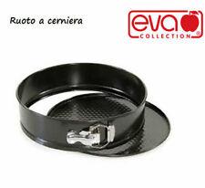 EVA COLLECTION STAMPO A CERNIERA ACCIAIO NERO 24 CM 8004537474053 TORTIERA