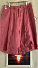 NWT Caribbean Joe Chinos classic men's Nantucket red short size 42