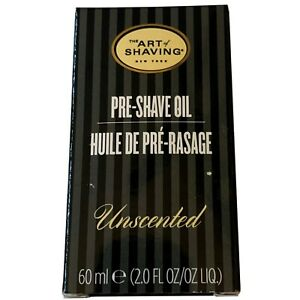 Brand New In Box The Art of Shaving Pre-Shave Oil Unscented 2.0 oz / 60 ml