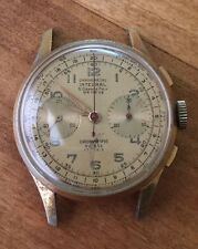 1 Vintage Chronograph Suisse Men's Watch  Landeron  48 1960's Parts Dial Ébauche