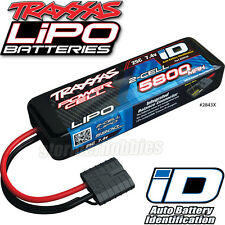 Traxxas 2843X 2S 7.4V 5800mAh 25C LiPo Battery iD Connector Bandit VXL / Summit