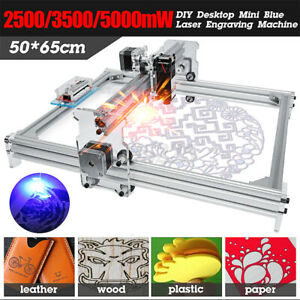 500~5000mw Desktop DIY Laser Engraving Machine CNC Engraver Carver Laser Printer