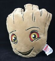 "Marvel Guardians of the Galaxy Happy Groot Face only 3D Pillow 13"" EUC Clean HTF"