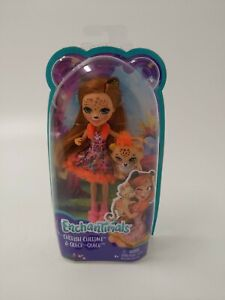 Enchantimals Cherish Cheetah Doll and Quick-Quick- Free Shipping