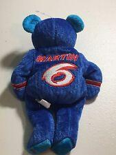 MARK MARTIN VALVOLINE NASCAR COLLECTIBLE RARE BEANIE BEAR FREE SHIPPING