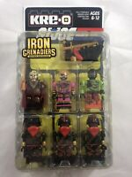 Iron Grenadiers KRE-O 6 Figure Pack GI Joe Pimp Daddy Destro Kreo SDCC Sealed