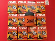 CASE OF 12 GENUINE FRAM PH8A ENGINE OIL FILTER