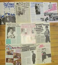 Mark Wahlberg, Lot of TEN Full Page Vintage Clippings, Marky Mark