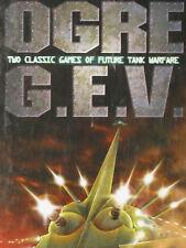OGRE/GEV Rarest Ed. Box, Unpunched, Steve Jackson, Great MegaExtras!!, G.E.V.