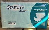120 Pannoloni a Mutandina Serenity super taglia M (media) 3 gocce per incontinen
