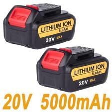 2X For Dewalt 5.0AH 20V DCD785 DCD740B DCB180 DCB200 Battery with Fuel Guage