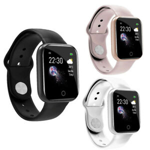 Waterproof Smart Watch Heart Rate Blood Pressure Tracker Fitness For Android IOS