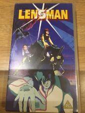 LENSMAN - YOSHIAKI KAWAJIRI  - VHS PAL UK Tape Video Manga English Dub