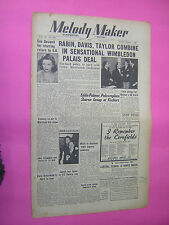 melody maker. july 1st 1950. jazz & swing etc. musik magazin. oldtimer magazin