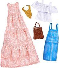 Mattel Barbie Fkt31 Barbie Fashions 2 unidades Muñeca color Rosa/azul
