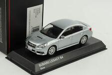 Subaru legado B4 Ice plata Metálico 1 43 Kyosho Diecast