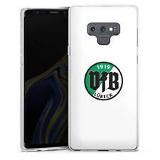 Samsung Galaxy Note 9 Silikon Hülle Case - VfB Lübeck Weiss #2