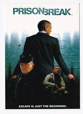 PRISON BREAK carte postale n° PC 0997 éditée en 2006 Wentworth MILLER PURCELL