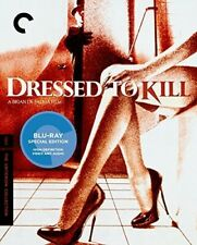 Dressed to Kill (1980) The Criterion Collection Mastered in 4k Blu-ray