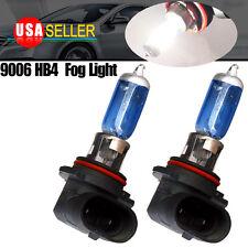 2 PCS 9006/HB4 55W 6000K Super White Gas Halogen Headlight Light Lamp bulbs 12V
