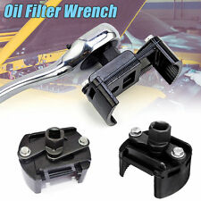 Car Oil Filter Removal Wrench Cup 1/2'' Housing Tool Remover Adjustable 60-80mm
