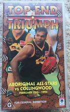 Top End Triumph - Aboriginal All-Stars vs. Collingwood RARE VHS/Video