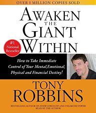 2 CD Awaken the Giant Within Anthony Tony Robbins New + Free Shipping