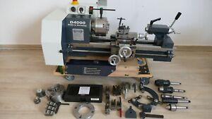 WABECO D4000 Drehbank/ Drehmaschine inkl. Zubehör (Typ 10401)