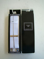 USAF US AIR FORCE ALL ENLISTED NCO OFFICER RANKS MESS DRESS PANTS SUSPENDERS #1
