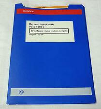 Reparatiebrochure VW Polo 6N Radio Telefoon Navigatie ab 1995