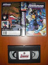 New Dominion Tank Police Acto X ( 10 ) [Anime VHS] Manga Films Edición Española