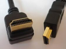 High Speed HDMI Cable with Ethernet 3 4/12ft 270 Degrees Angled/Angled NEW
