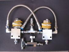 Lowrider Hydraulics Two Dump Kit, chrome finished, best setup