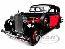 1935 MAYBACH SW35 4 DOORS SPOHN RED/BLACK 1/18 BY SIGNATURE MODELS 38208