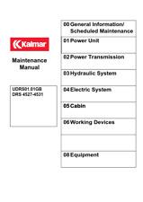 More details for kalmar drs 4527 - 4531 maintenance manual reprinted comb bound