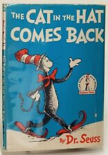 The Cat in the Hat Comes Back by Dr. SEUSS: early printing in DJ, VG/G+ 77870