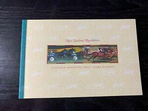 NEW08/21- New Zealand Prestige Booklets ~ NEW ZEALAND RACE HORSES