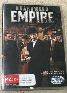 Boardwalk Empire : Season 2 (DVD, 2012, 5-Disc Set) Very Good Condition Region 4