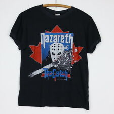 Nazareth Shirt Vintage tshirt 1984 The Catch Canadian Tour Concert tee Band 80s