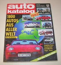 Autokatalog Modelljahr 1992 - Nr. 35!