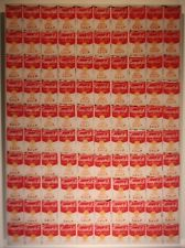 ANDY WARHOL 100 Cans Pop Art CAMPBELLS SOUP Lithograph