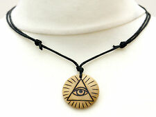 The All-Seeing Eye of God Necklace Eye of Providence Pendant Unisex Jewellery