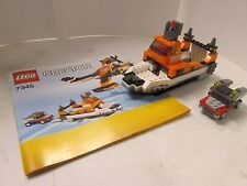 Lego Creator 7345 Transport Chopper car and boat only with instructions