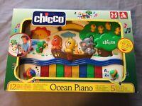 Chicco Electronic Ocean Piano / Elektrisches Klavier für Kinder - ab 24 Monaten