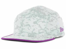 New Era Snow'd Purple 5 Panel Adjustable Strapback Camper Racer Cap Hat