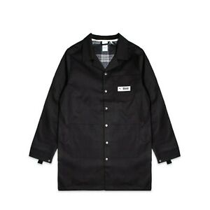Puma x RHUDE Coat Mens Black Solid Full Snap Active Outdoor Wear 595344-01