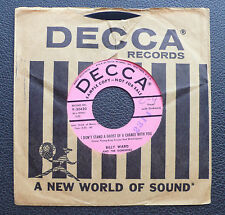"7"" Billy Ward & Dominoes - I Don't Stand.../ To Each His Own - US DECCA Promo"