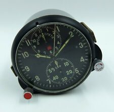 AChS-1 Russian Soviet USSR Military AirForce Aircraft Cockpit Clock #08007