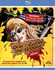 DON'T GO IN THE WOODS...ALONE BLU-RAY DVD MOVIE FILM HORROR SLASHER CAMP FRIDAY